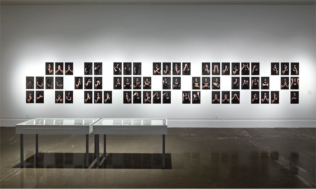 Erika DeFreitas, A Visual Vocabulary for Hands in Mourning (2013)
