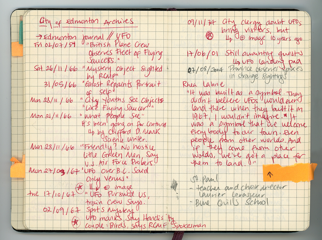 Jacqueline Hoàng Nguyêễn, Research log for Space Fiction & the Archives, 2012.