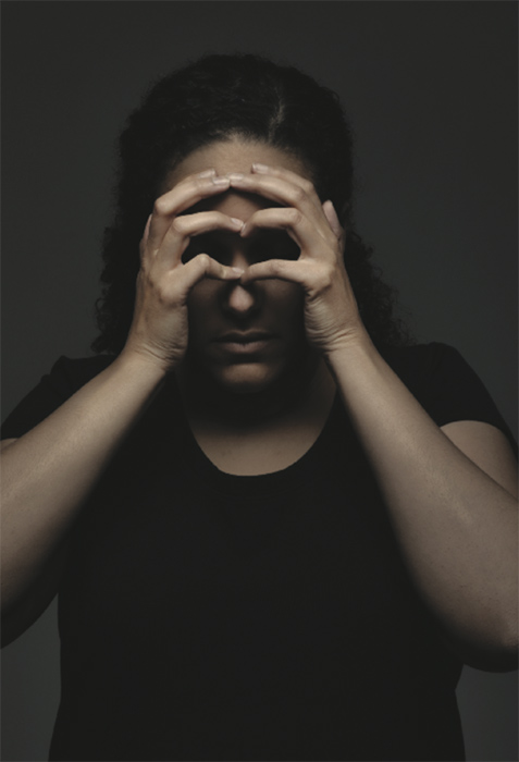 Erika DeFreitas A Visual Vocabulary for Hands in Mourning (no. 60) (2013)