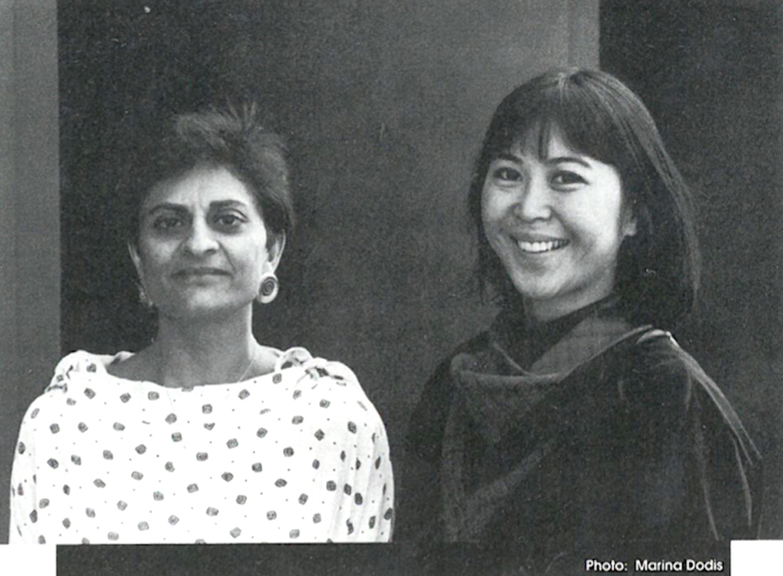 Festival Co-Directors Lorraine Chan and Zainub Verjee