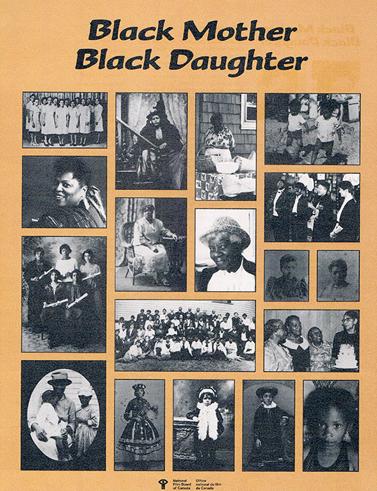 Poster for Black Mother Black Daughter (1989)