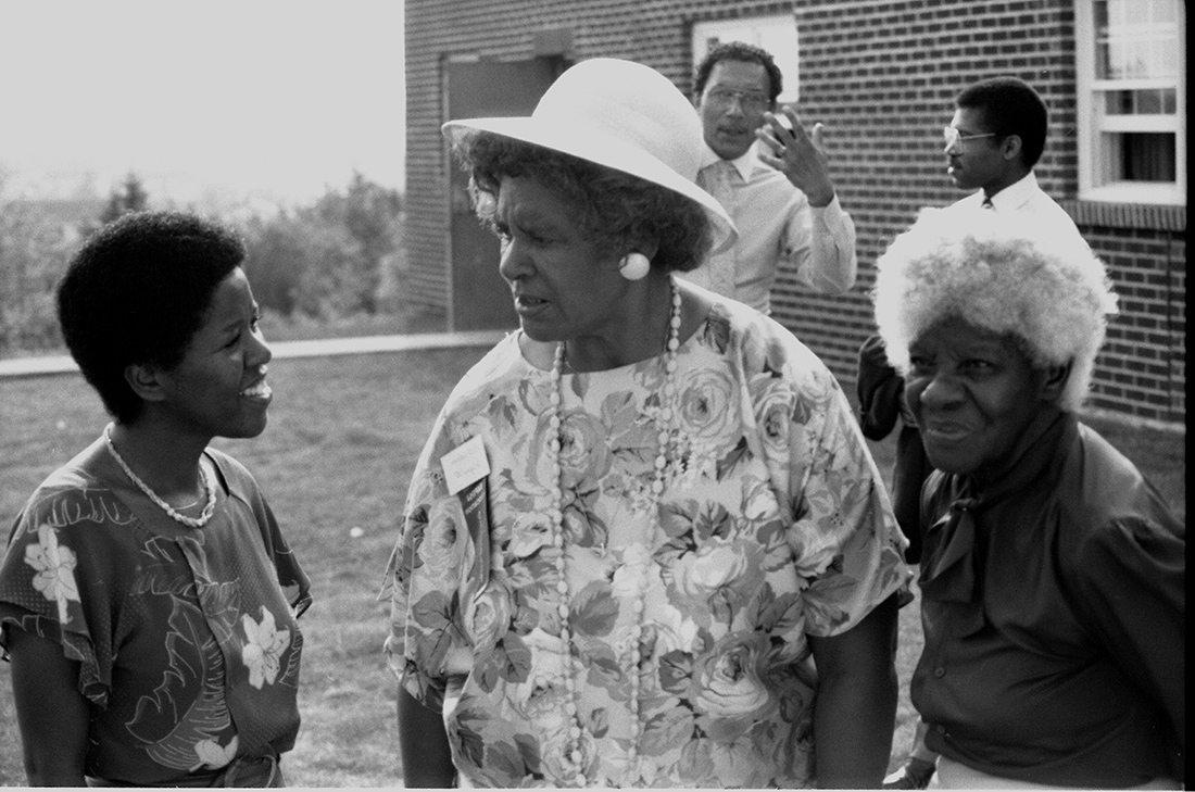 Black Mother Black Daughter (1989). Production still